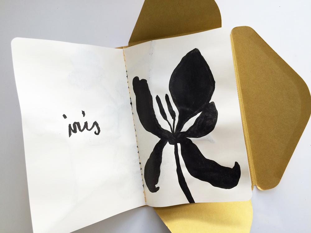Flower Dior - Ink